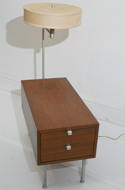 George nelson cabinet with mounted lamp at 1stdibs for Sofas tolosa