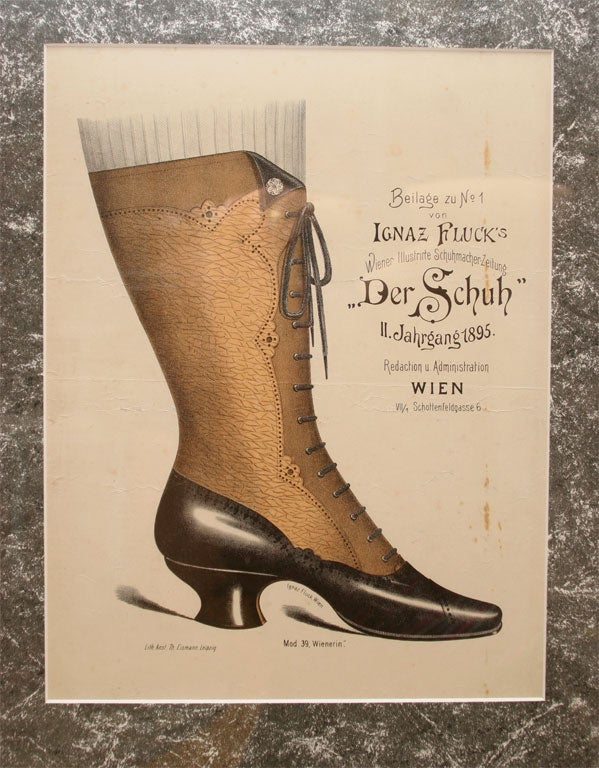 Set of Four Shoe Illustrations 5