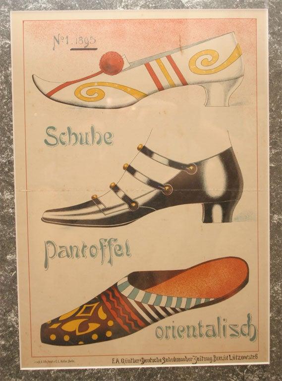 Set of Four Shoe Illustrations 6