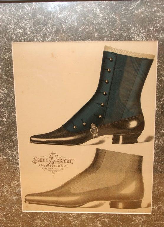 Set of Four Shoe Illustrations 8
