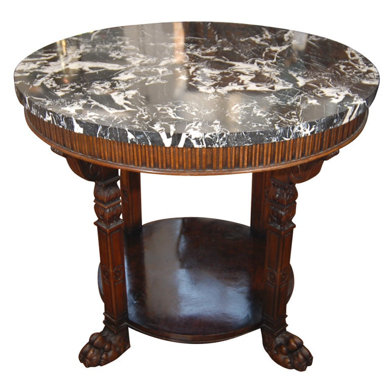 19th century french louis philippe center table at 1stdibs for Table ronde louis philippe
