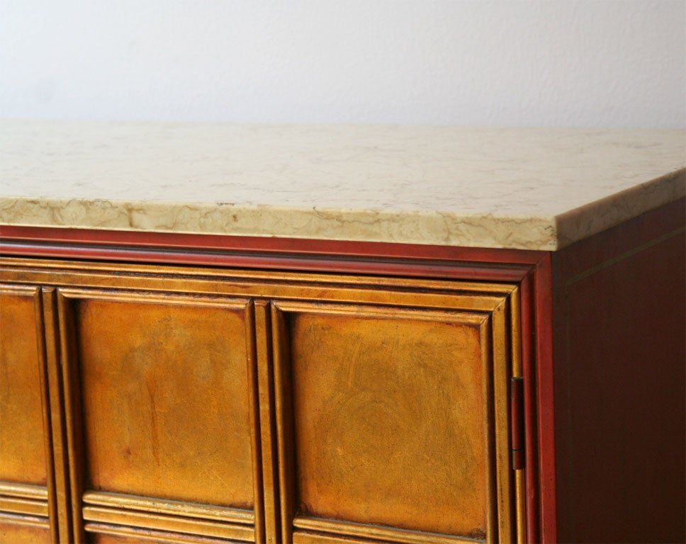 pair of lacquer and gilt wood cabinets at 1stdibs