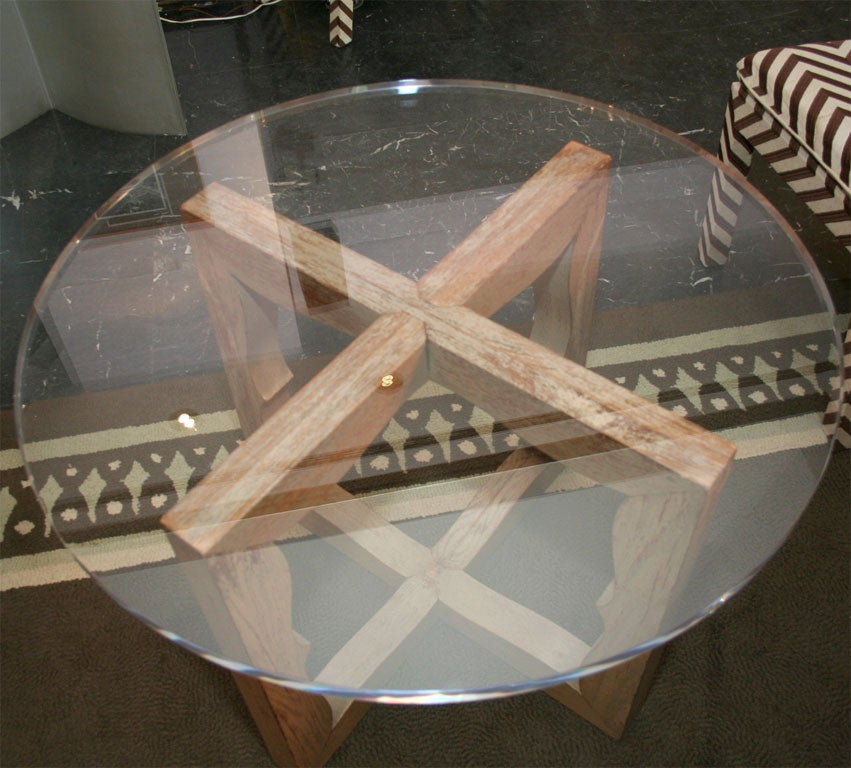 Liz O'Brien Editions Arabesque Table In Excellent Condition For Sale In New York, NY