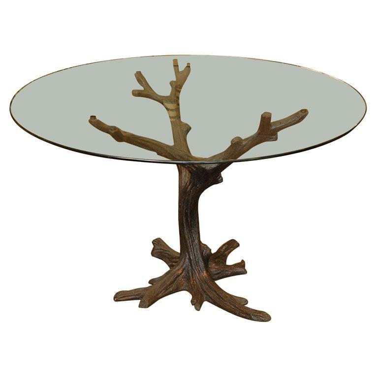 tree table base at 1stdibs