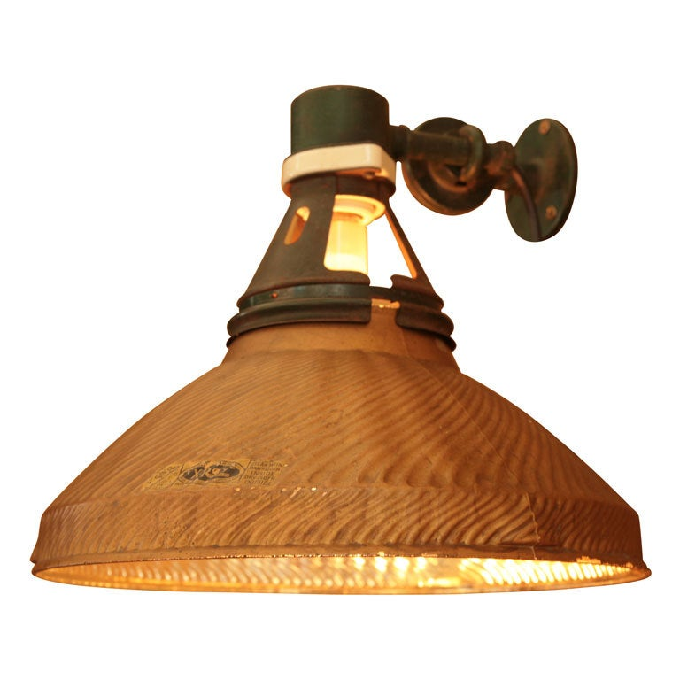 Industrial Wall Mounting Light At 1stdibs