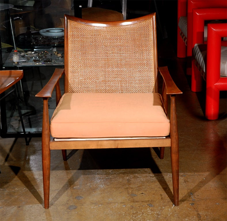 Paul McCobb planner cane back armchair 2