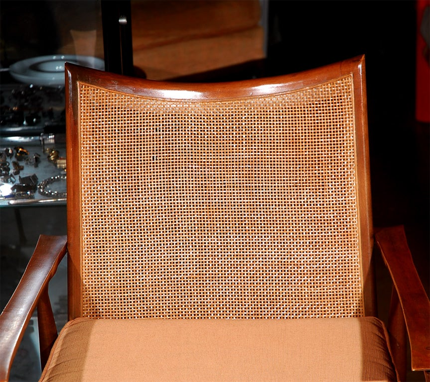Paul McCobb planner cane back armchair 3