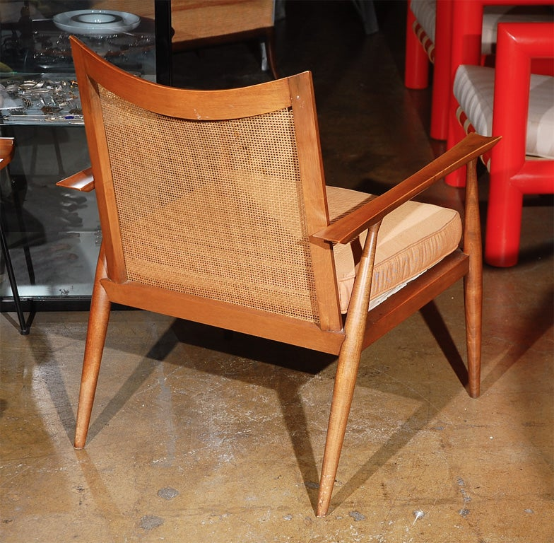 Paul McCobb planner cane back armchair 6