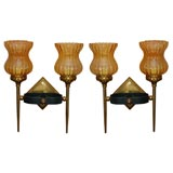 Pair of Two Light Sconces