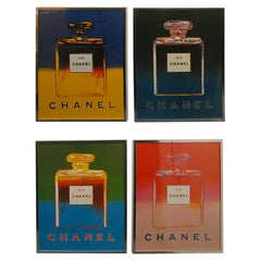 Chanel Prints by Andy Warhol