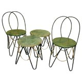 * 8076  Set Of Garden Furniture