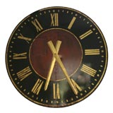 Painted Metal Clock Tower Clock Face