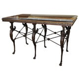 A Fine Grand Scale Late 19th Century Pompeian Style Center Table