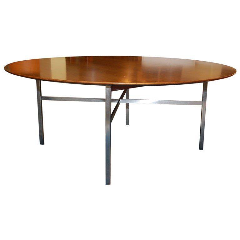 dining table by florence knoll for knoll international for sale at