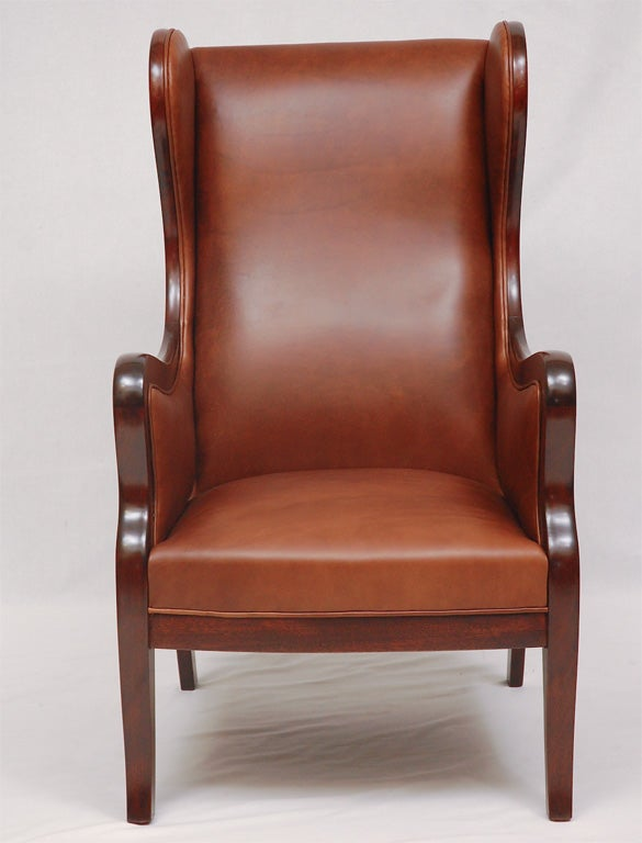 Frits Henningsen Wingback Armchair.  Store formerly known as ARTFUL DODGER INC