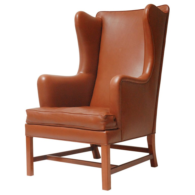 1960s Missoni Wingback Chair At 1stdibs: Kaare Klint Wing Back Arm Chair At 1stdibs