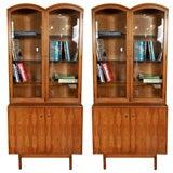 Pair of Mid Century Bookcases
