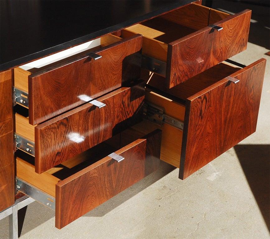 florence knoll credenza model 2543m at 1stdibs. Black Bedroom Furniture Sets. Home Design Ideas