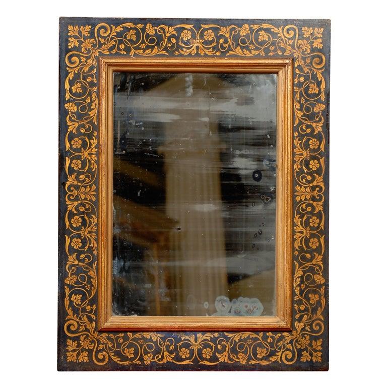 Antique Italian Hand Painted Mirrors