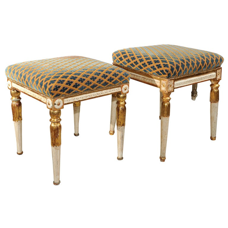 Swedish Tabouret Stools At 1stdibs