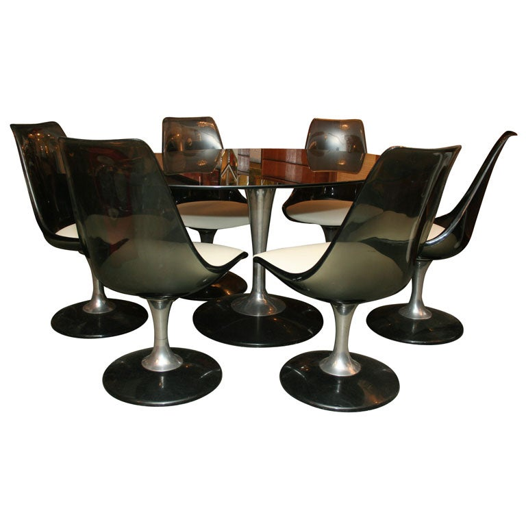 Chromcraft Dining Set For Sale. Table ...