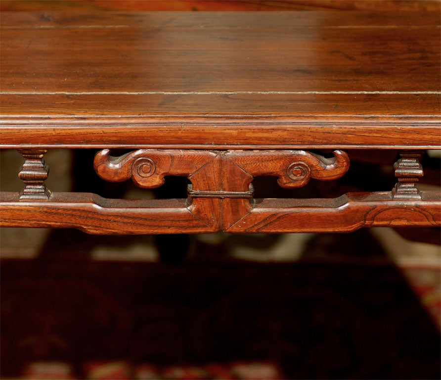 19th century qing dynasty narrow side table at 1stdibs