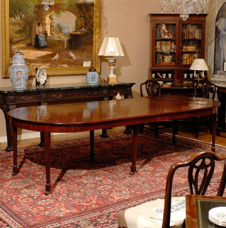 18th Century Dutch Louis Xvi Period Dining Table Of