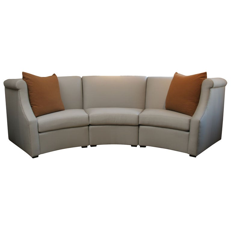 Dara sectional sofa by vicente wolf at 1stdibs for Sectional sofas wolf furniture