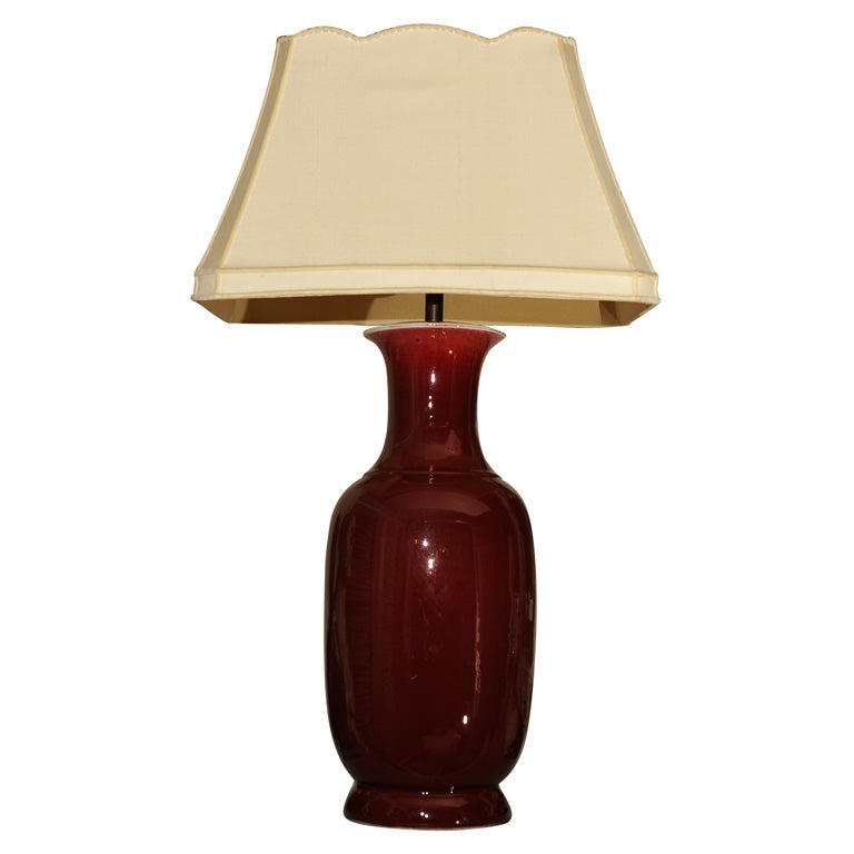 Contemporary Blown Glass Table Lamps