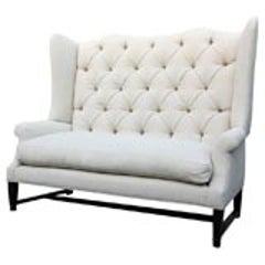 Os Du Mouton Style Settee For Sale At 1stdibs