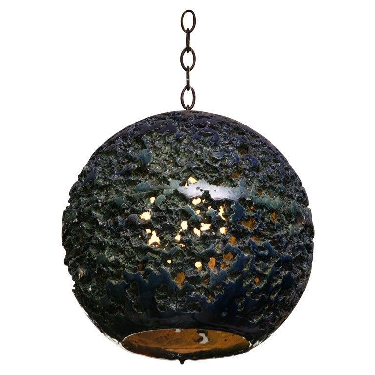 Pottery Ceiling Lite At 1stdibs