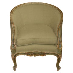 Painted and Gilt Bergere