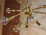 Brass Sputnick Chandelier image 4