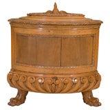 Italian Renaissance Style Walnut Wine Cooler