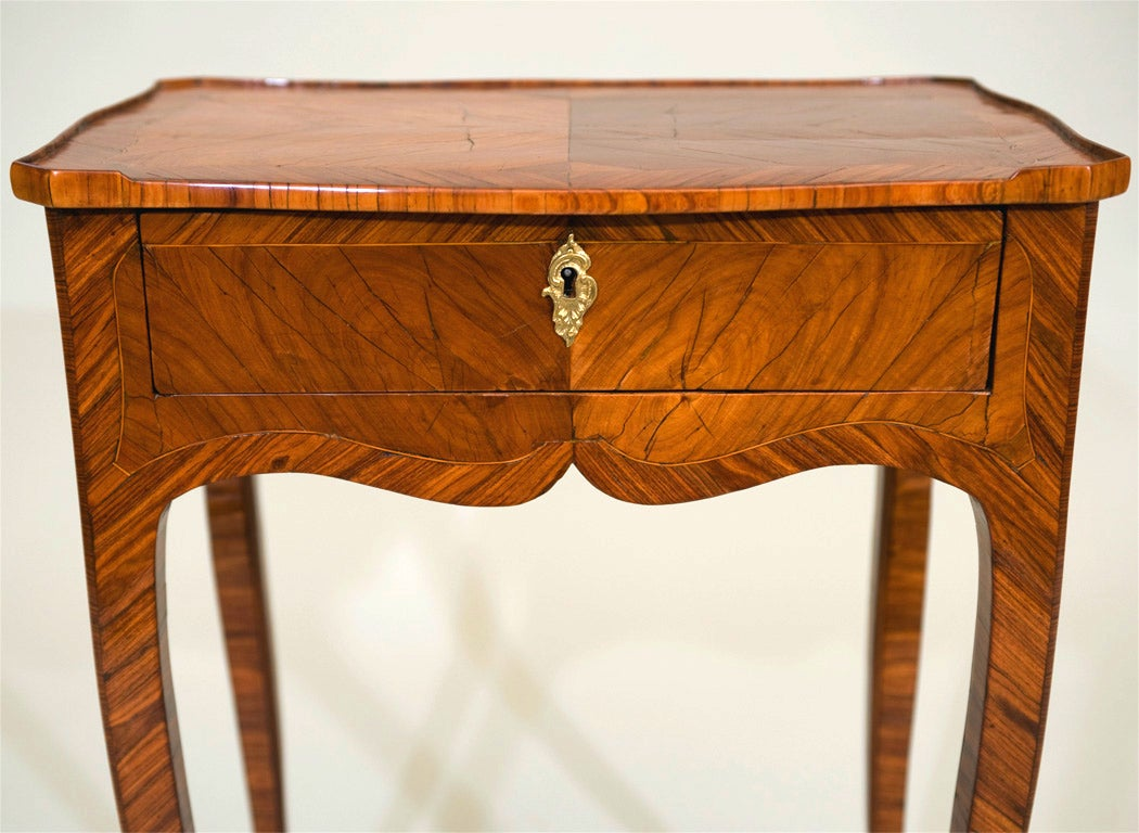 Tulipwood Side Table For Sale 2