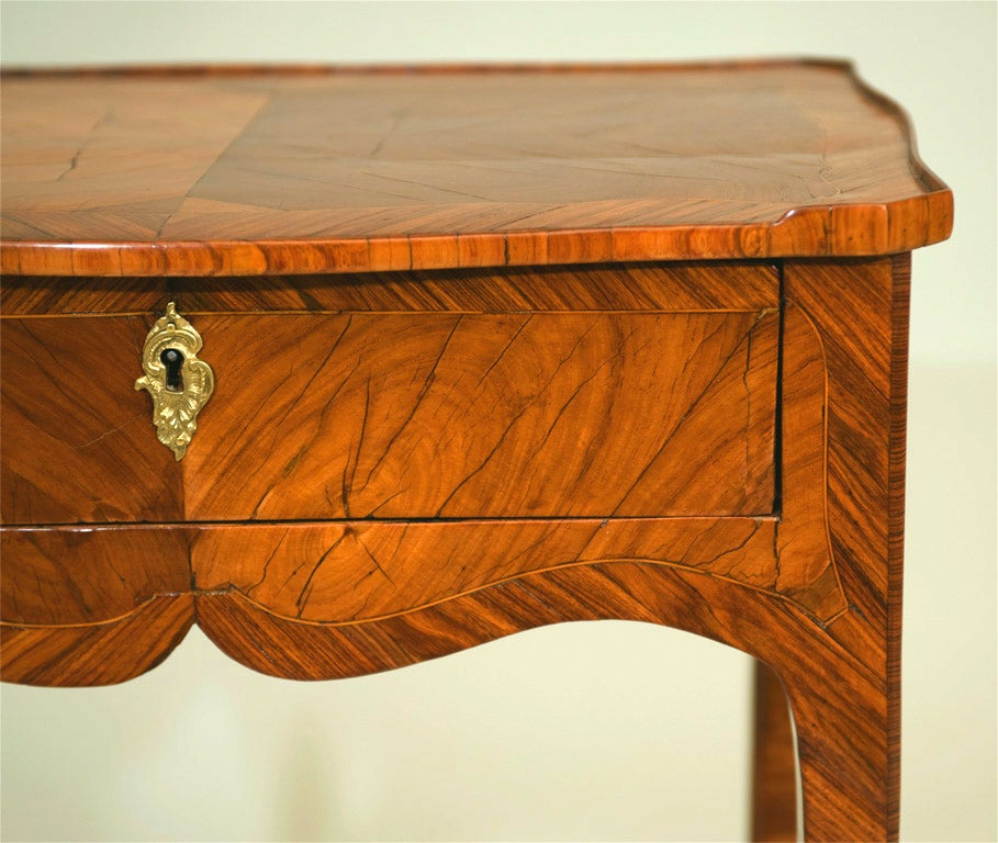 Tulipwood Side Table For Sale 3