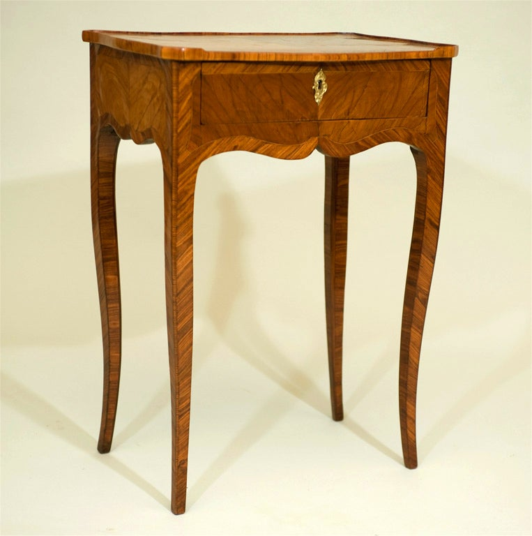 Tulipwood Side Table For Sale 4