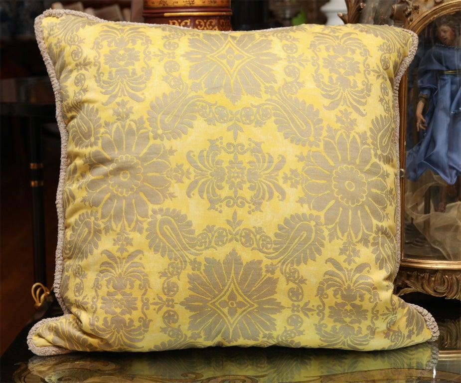 Fortuny Fabric Cushions 2