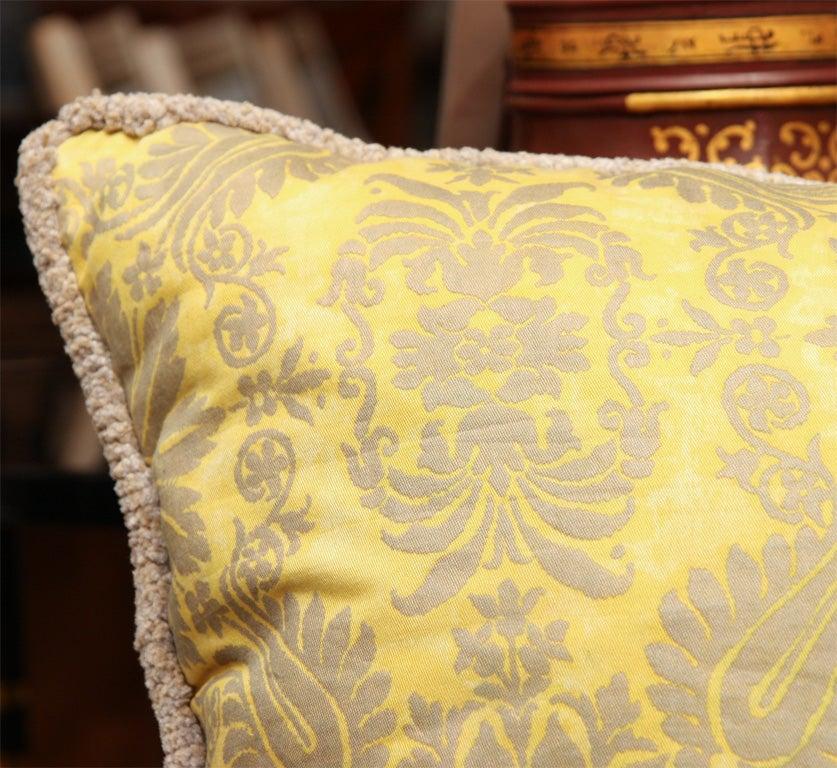 Fortuny Fabric Cushions 4