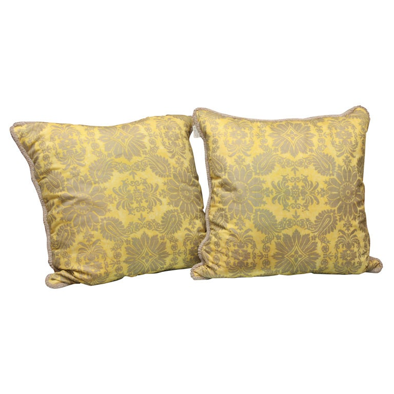 Fortuny Fabric Cushions