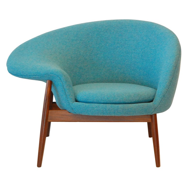 hans olsen fried egg chair at 1stdibs. Black Bedroom Furniture Sets. Home Design Ideas