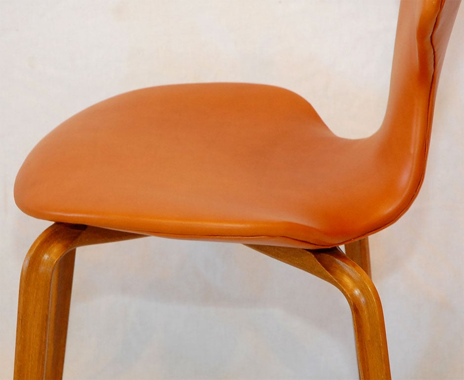 8 Arne Jacobsen Grand Prix Chairs At 1stdibs