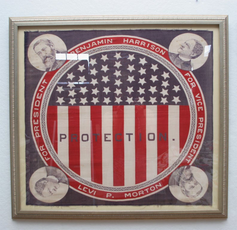 19th Century Pair of Campaign Bandanas For Sale