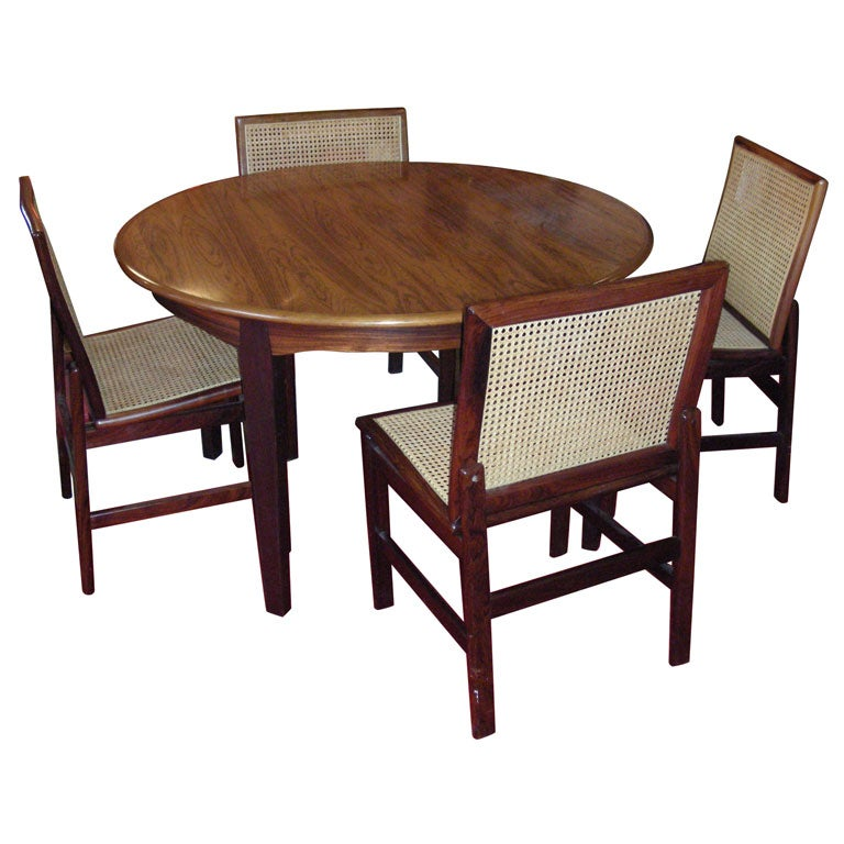 1960s Danish Dining-Room Suite At 1stdibs