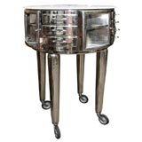 Nickel Plated French Dental Cabinet