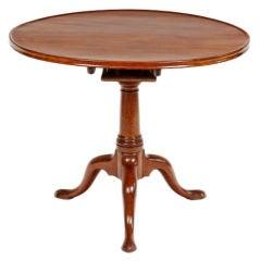 Georgian Mahogany Tripod Tilt Top Table