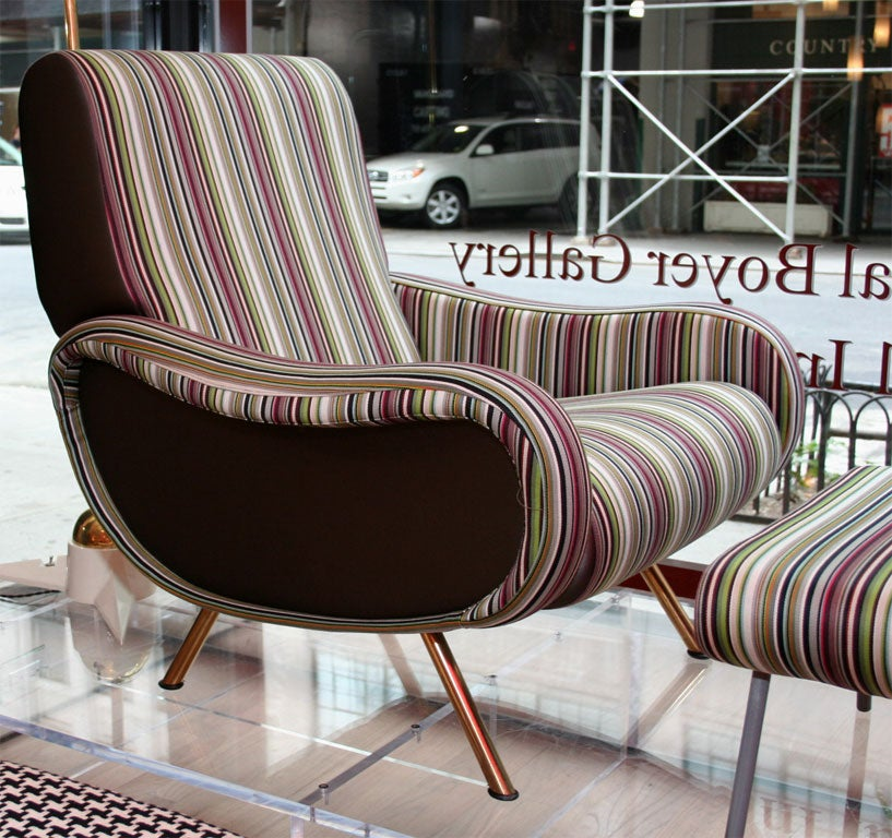 Lady Chair and Ottoman by Marco Zanuso 3