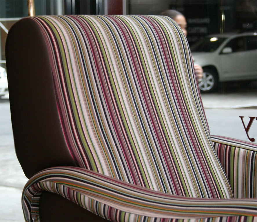 Mid-20th Century Lady Chair and Ottoman by Marco Zanuso For Sale