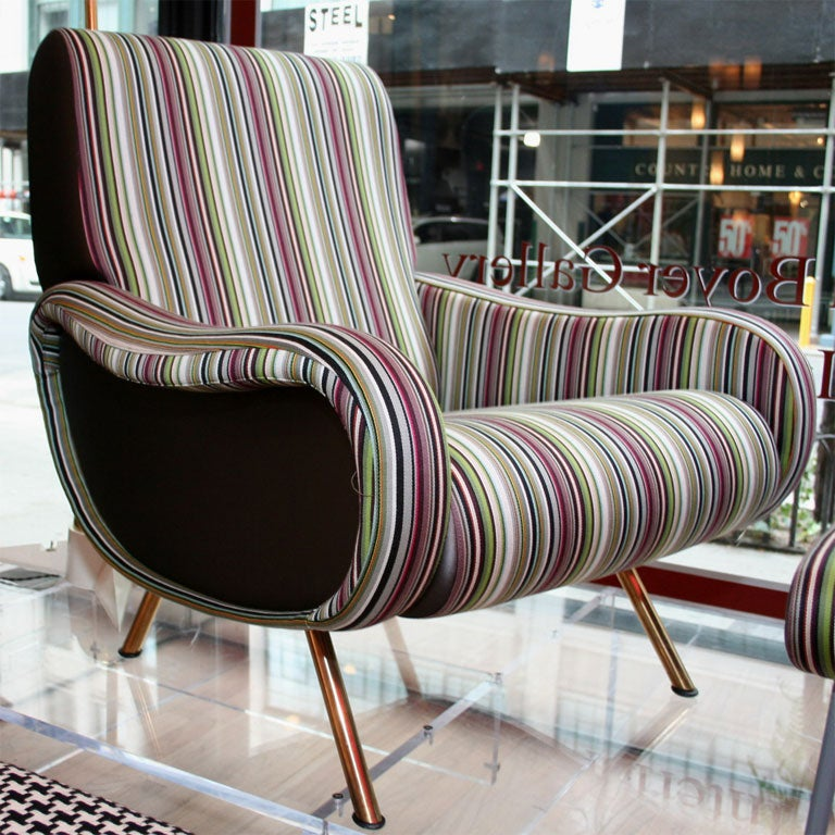 Lady Chair and Ottoman by Marco Zanuso For Sale 1