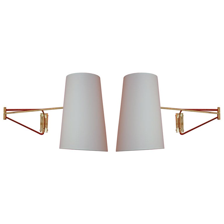 Lunel Swingarm Sconces For Sale